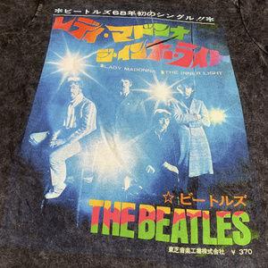 The Beatles Japanese Acid Wash Tee Sml